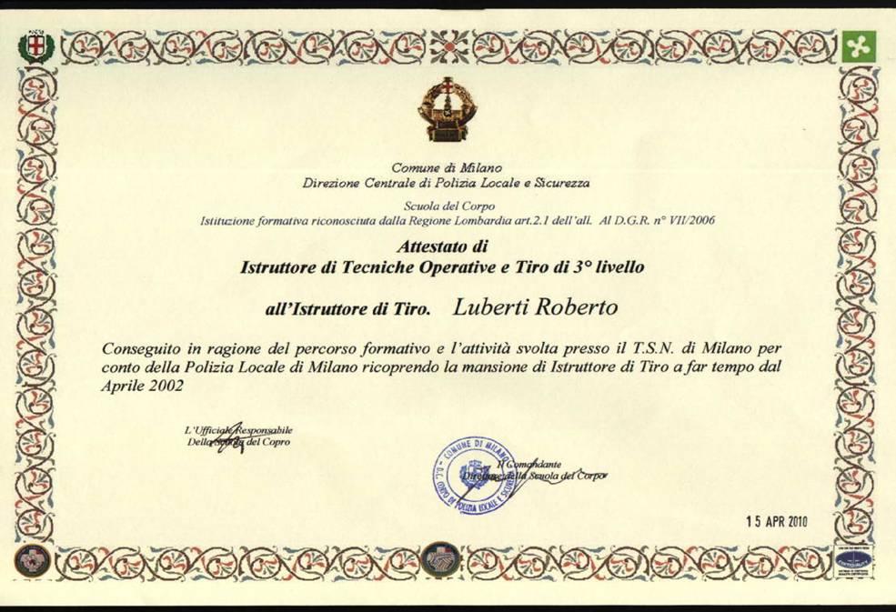 Titoli di studio e brevetti | Corsi per Protezione Civile ...
